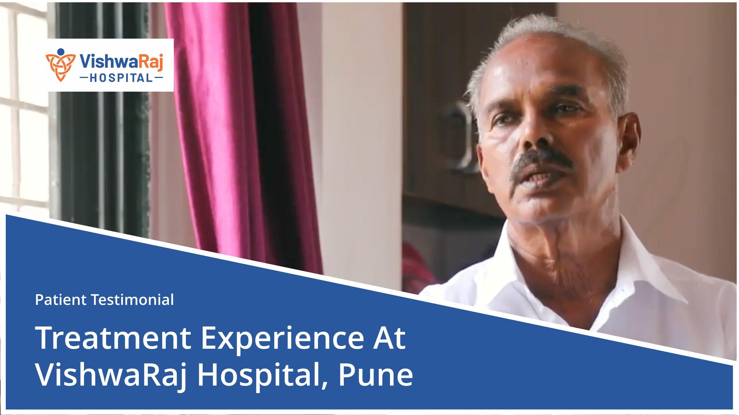 Patient testimonial at VishwaRaj Hospital Pune ortho joint replacement