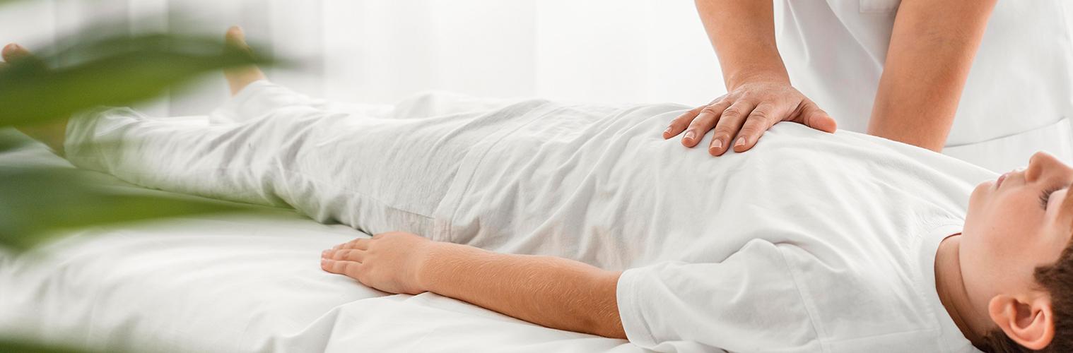 Physiotherapy helping stroke patient - VishwaRaj Hospital